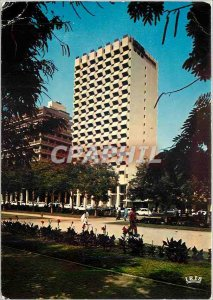 Modern Postcard Republic of Senegal Dakar Hotel Independence