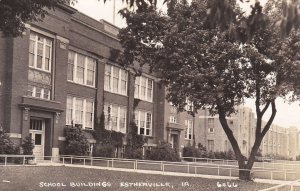 RP: ESTHERVILLE, Iowa, 1930-50s; School Buildings