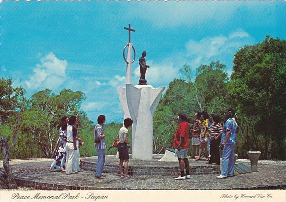 Saipan Peace Memorial Park Northern Mariana Islands
