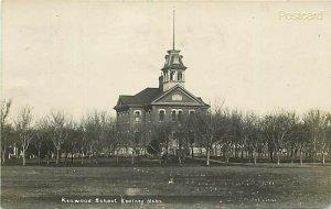 NE, Kearney, Nebraska, Kenwood School, S.D. Butcher, RPPC