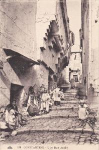 CONSTANTINE , Algeria , 00-10s : Une Rue Araba