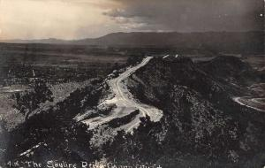 Canon City Colorado Skyline Drive Real Photo Antique Postcard K80895