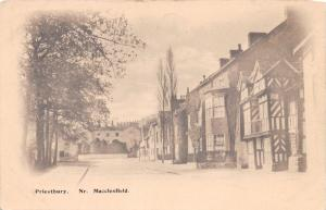 PRIESTBURY CHESHIRE UK NEAR MACCLESFIELD BOOTS PELHAM SERIES POSTCARD 1910s