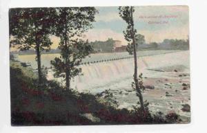 Dam Across St. Joe River Elkhart, Indiana PU-1907