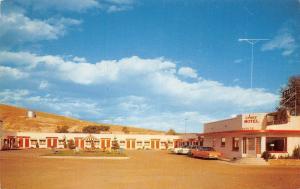Montpelier Idaho~Chief Motel~1964 Postcard