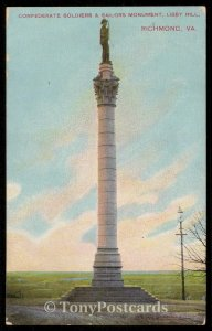Confederate Soldiers & Sailors Monument, Libby Hill