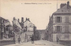 La Rue Carnot, Chateau Thierry (Aisne), France, 1900-1910s