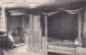 DAUPHINE, Couvent de la Grande-Chartreuse, Cellule d'un Mome, Isere, France, ...