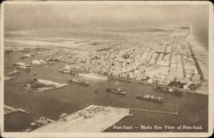 Port Said Bird's Eye View port shipping
