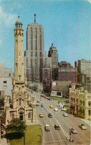 Aero Automobiles Michigan Avenue Chicago Illinois Postcard Teich 21-119