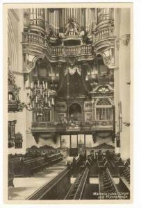 RP  Rostock, Germany, Marienkirche, Orgel und Furstenloge, 1910-30s