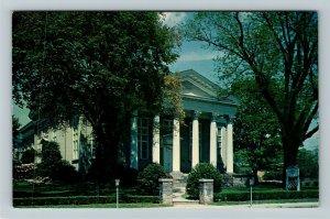 Waynesboro VA- Virginia, First Presbyterian Church, Religion, Chrome Postcard