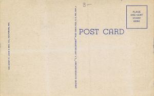 Rehoboth Beach Delaware~State Large Letter Linen Postcard~Races~Bathing Beauty