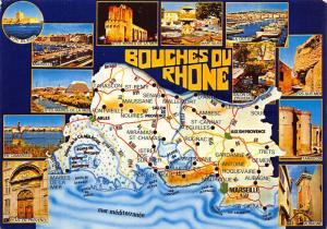 France Bouches du Rhone multiviews En Camargue Marseille Martigues Postcard