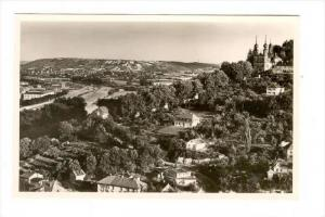 RP  Wurzburg-Kappele mit Blick ins Maintal, Germany, 1940s