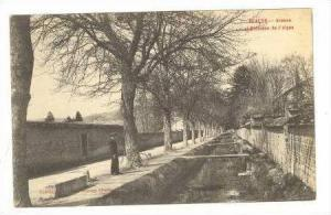 Beaune, France, 00-10s Avenue et Ruisseau de l'Aigne