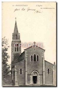 Badinieres Postcard Old L & # 39eglies