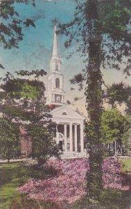 North Carolina Pinehurst North Carolina Village Chapel In Its Attractive Sett...