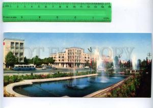 228786 Tajikistan Dushanbe Lenin prospekt old postcard