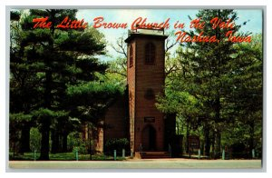 The Little Brown Church In The Vale Nashua Iowa Vintage Standard View Postcard