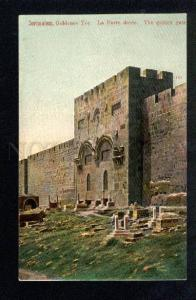 037548 JERUSALEM Golden Gate Vintage color PC