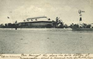 angola, NAMIBE, Cabo Submarino, Mossamedes Cable Station (1908) Postcard