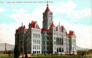 Utah Salt Lake City City and County Building