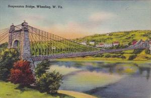 Suspension Bridge Wheeling West Virginia
