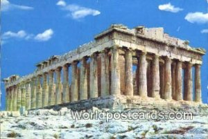 The Parthenon Aathens Greece Postal Used Unknown