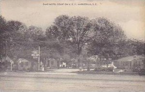 South Carolina Hardeerville Oaks Motel Court
