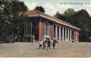 New Post Office, CHAUTAUQUA, New York, 00-10s