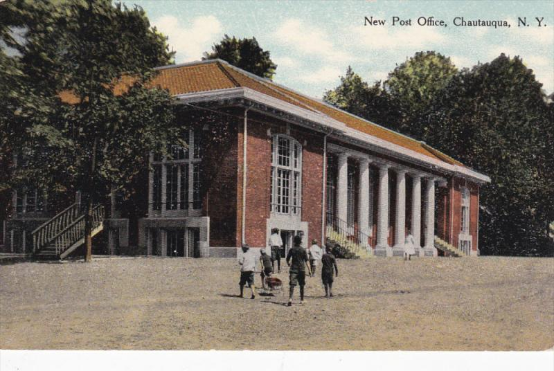 New Post Office, CHAUTAUQUA, New York, 00-10s