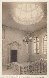 CAMBRIDGE, MA, 00-10s; Widener Library, Mn Staircase, Harvard University #2