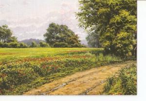 Postal 023190 : Pintura paisaje