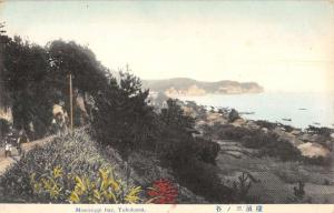 Yokohama Japan Mississippi Bay Birdseye View Antique Postcard K85576