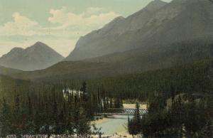 BANFF , Alberta , Canada , 00-10s; Spray River Bridge