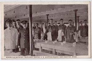 Mershant Marine, US Shipping Board, East Boston MA