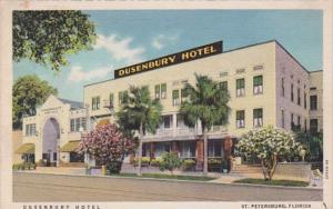 Florida St Petersburg The Dusenbury Hotel Curteich