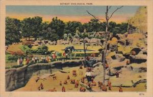 Detroit Zoological Park Detroit Michigan 1947