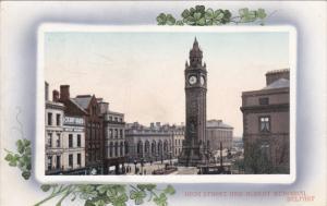 BELFAST , Northern Ireland , 00-10s ; Shamrock Border ; High Street & Albert ...