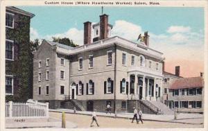 Massachusetts Salem Custom House (Where Hawthorne Worked)