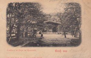 Gasthaus in Leipe im SPREEWALD , Germany , 1900