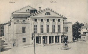 Germany Weimar Hoftheater 06.61