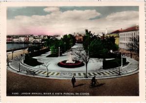 CPA Evora- Jardim Manuel Bivar e vista parcial de cidade, PORTUGAL (760815)