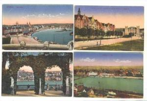4 PC's, Different Scenes In Coblenz (Rhineland-Palatinate), Germany, 1900-1910s