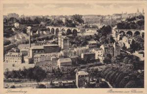Panorama Sur Clausen, Luxembourg, 1910-1920s