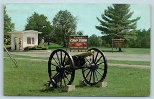 Postcard NY Camp Drum Main Entrance US Army Training Site N7