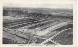 RIVERDALE , North Dakota , 1954 ; East Embankment Construction