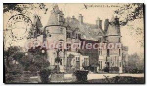 Old Postcard Tourlaville Chateau