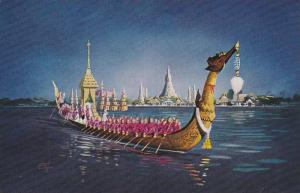 The Royal Barge, Suwannahonges, Bangkok, Thailand, PU-1966